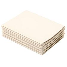 优玛仕 热熔封套 (透明面白纸) 100张/包  装订背宽2mm