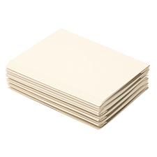 优玛仕 热熔封套 (透明面白纸) 100张/包  装订背宽4mm