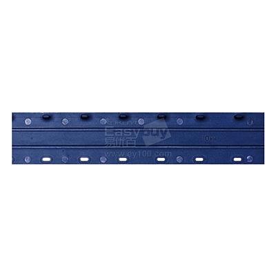 好文客 十孔活页装订夹条 (蓝) (100支/盒)10mm