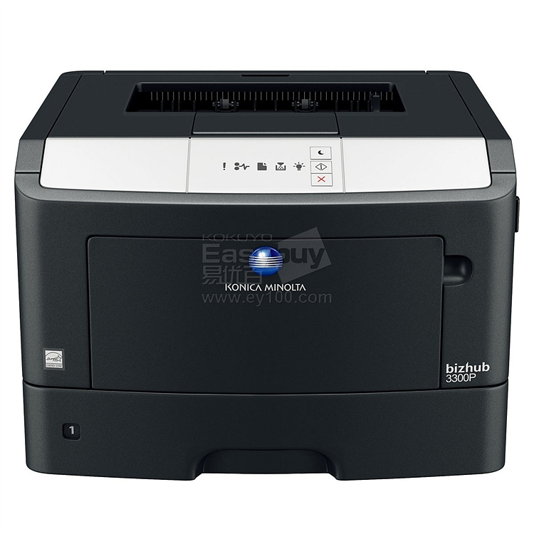 柯尼卡美能达 黑白激光打印机 (黑) 双面+网络  bizhub 3300P