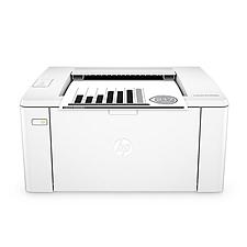 惠普 黑白激光打印機 wifi  M104w