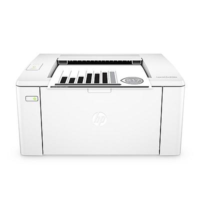 惠普 黑白激光打印机 wifi  M104w