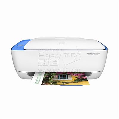 惠普 彩色喷墨多功能一体机 (白) 3合1+wifi  Deskjet 3638