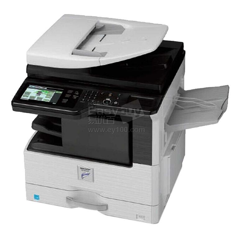 夏普 彩色数码复印机(wifi) (黑+白) 输稿器+单纸盒配置  MX-2648NC