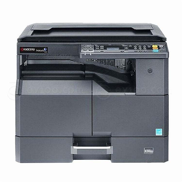 京瓷 黑白数码复印机 (黑) 盖板+单纸盒配置  TASKalfa 1800