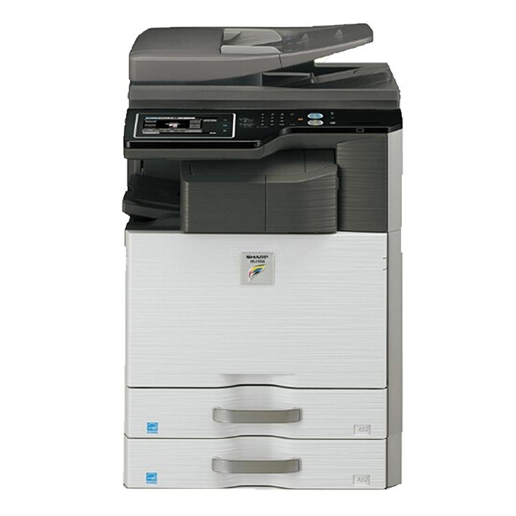 夏普 彩色数码复印机 双纸盒+送稿器+工作台配置  DX-2508NC+DE12