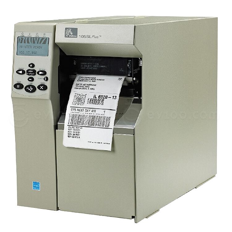 斑马 工业级条码打印机 300dpi  105SL