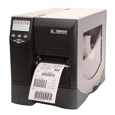 斑马 工业级条码打印机 300dpi  ZM400
