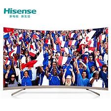 海信 ULED 曲面4K智能电视 55吋  LED55MU8600UC