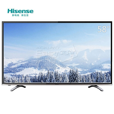 海信 LED 4K智能WIFI电视 58吋  LED58K300U