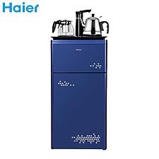 海爾 多功能觸屏智能茶吧機下置式水桶飲水機 (藍) 溫熱型  YD1683-CB