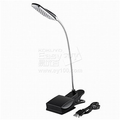 山业 28粒LED小台灯 USB/电池两用供电 (黑) 3档亮度调节  USB-TOY66