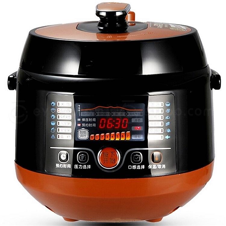 九阳 高压锅/电压力锅 (萨摩亚橙) 6l jyy-60c1