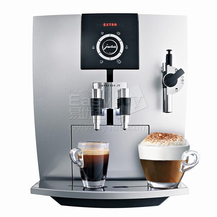 优瑞 Jura原装进口全自动商用咖啡机 (白)  Impressa J5