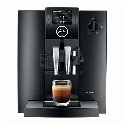 优瑞 Jura原装进口全自动商用咖啡机 (黑)  E8