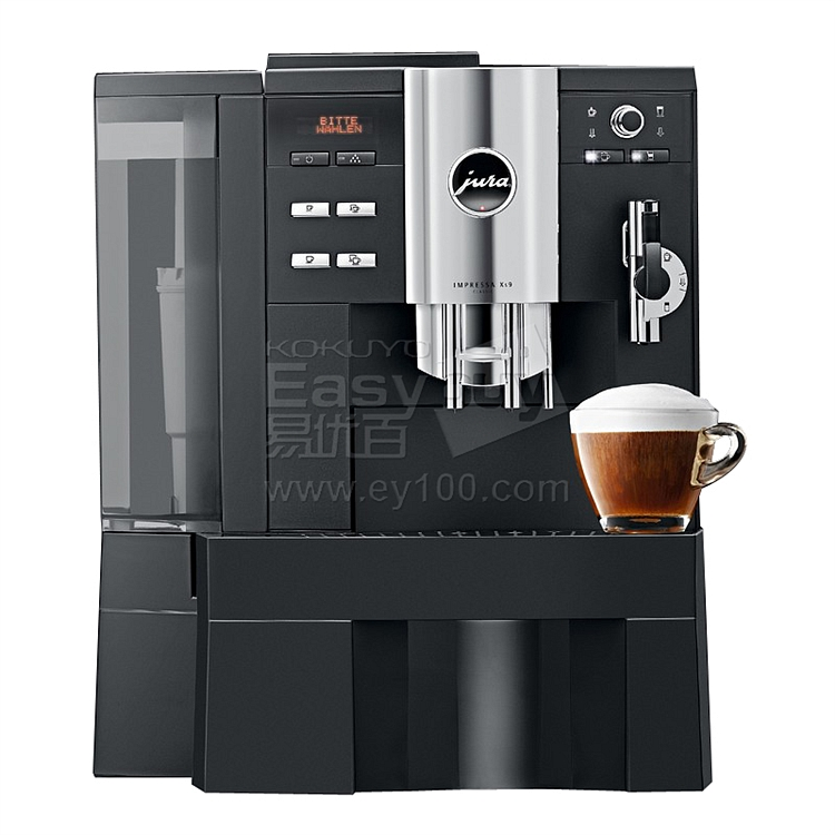 优瑞 Jura原装进口全自动商用咖啡机 (黑)  Impressa XS9