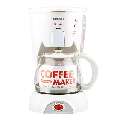 北欧欧慕 滴漏式咖啡机 (椰奶白) 0.6L  NKF6001