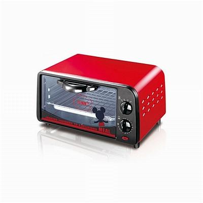 荣事达 迪士尼烘培王电烤箱 (红) 9L  RK-09F