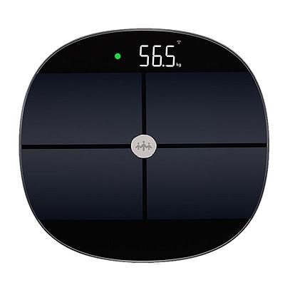 乐心 智能体脂秤电子秤体重秤 (黑) 智能WiFi数据传输  S7