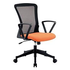 恩榮 職員網椅 (座墊橙/椅背黑)  JG800233G
