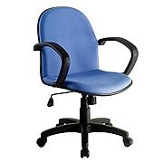 恩榮 職員椅 (藍色)  JG401325G