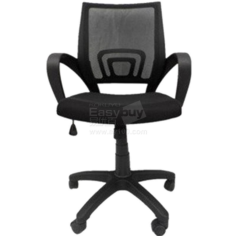 吴俚 办公椅 (黑) 600W*600D*865-950H(mm)  YT-8162B