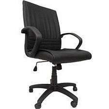 吴俚 办公椅 (黑) 600W*600D*850-950H(mm)  YT-8021B