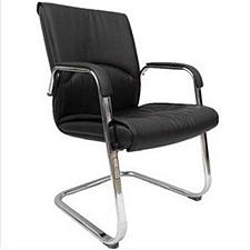 吴俚 会议椅 (黑) 600W*600D*890H(mm)  YT-8050C