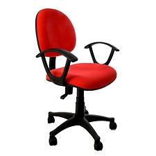 吴俚 电脑椅 (红) 490W*470D*790-890H(mm)  YT-8089B