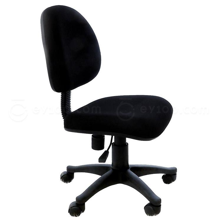 吴俚 电脑椅 (黑) 460W*470*790*890H(mm)  YT-8089BW