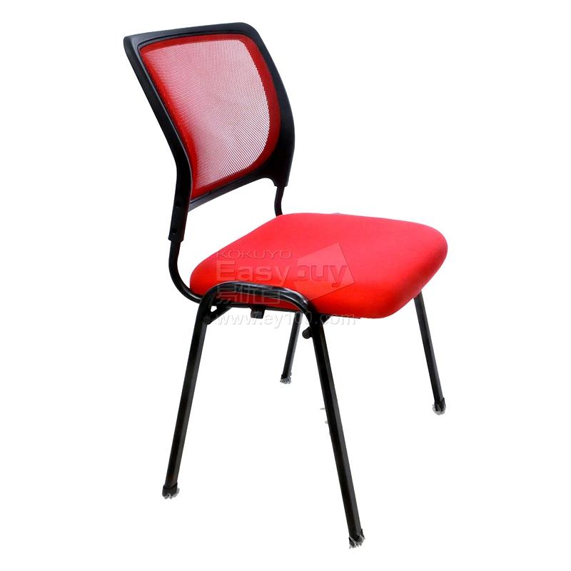 吴俚 培训椅 (红) 535*480*865(mm)  YT-8701C