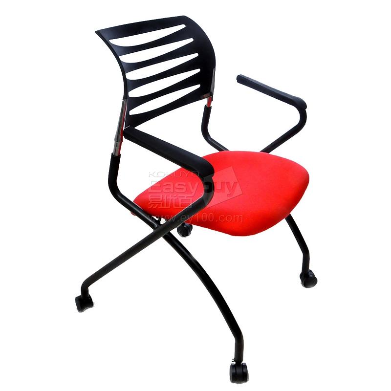 吴俚 培训椅 (红) 590*480*850(mm)  YT-8703C