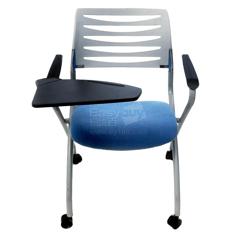 吴俚 培训椅 (蓝) 630*480*850(mm)  YT-8704C