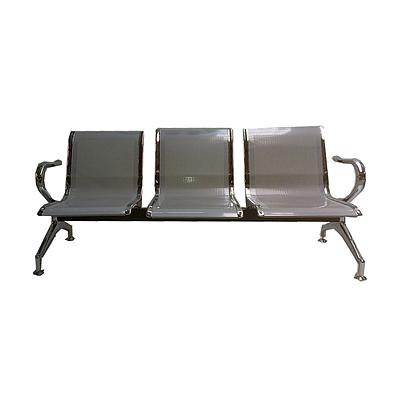 吴俚 排椅/公众椅 (银) 1710*700*600(mm)  YT-5003C