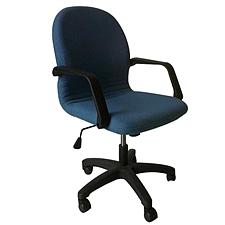 吳俚 辦公椅 (藍)  WL-8065BL
