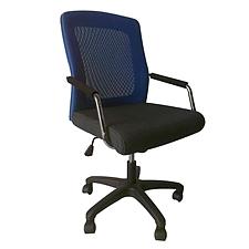 吴俚 办公椅 (蓝背黑座)  WL-8172BF1