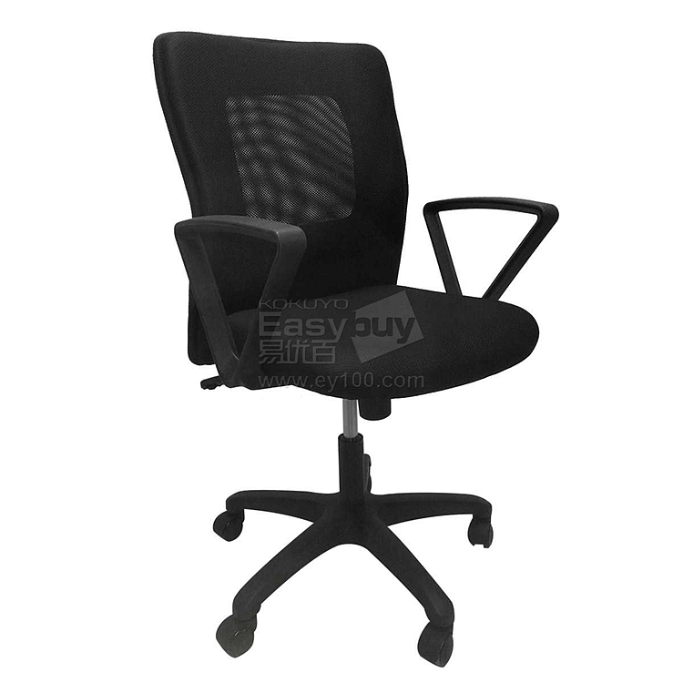 吴俚 办公椅 (黑)  WL-8172B