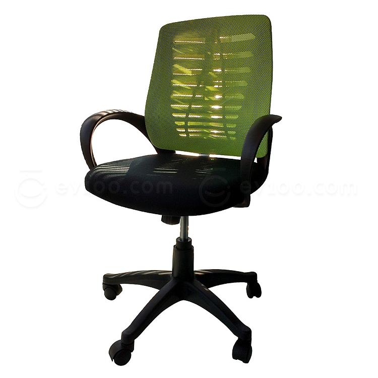 吴俚 办公椅 (绿背黑座)  WL-8175BFL