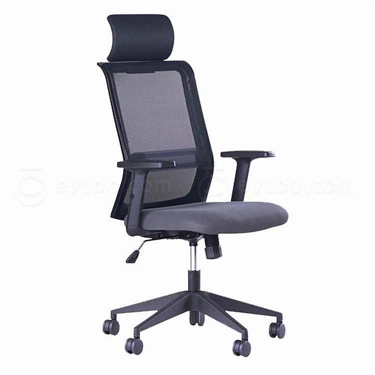 国誉 办公椅 (黑) 635*590*1120-1215mm  CCR-G7636DN