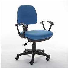 顺发 布艺职员椅 (天蓝)  SH321C