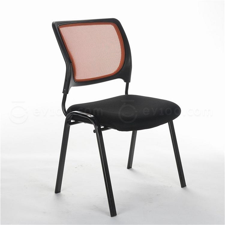 顺发 网布会客椅 (背橙色座黑色)  SH1045C