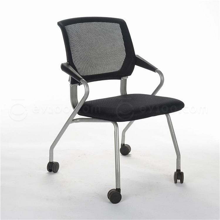 顺发 网布培训椅 (黑)  SH1574C
