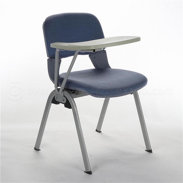 顺发 布艺培训椅 (天蓝)  SH402A