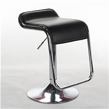 顺发 仿皮吧椅 (黑)  SH6067