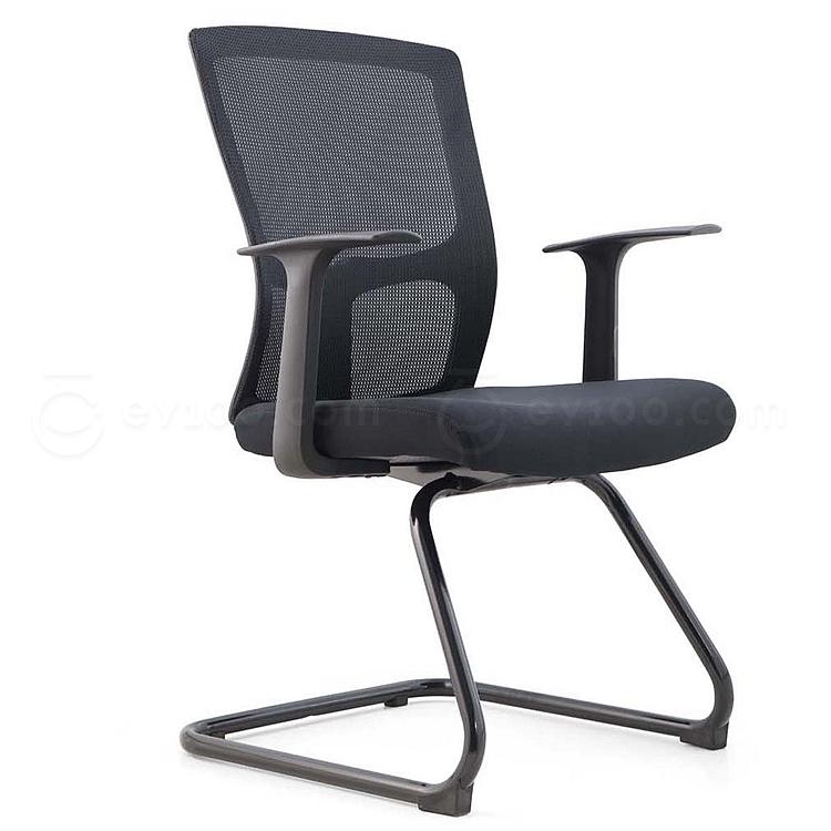 吴俚 办公椅 (黑)  WL-8202C