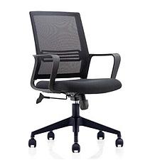 吳俚 辦公椅 (黑)  WL-1663B