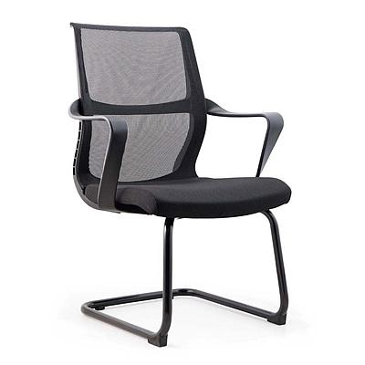 吴俚 办公椅 (黑)  WL-1666C