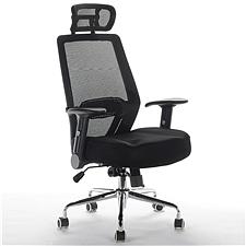 顺发 记忆棉舒适主管椅 (黑)  JM1637A