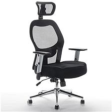 顺发 记忆棉舒适主管椅 (黑)  JM1638A