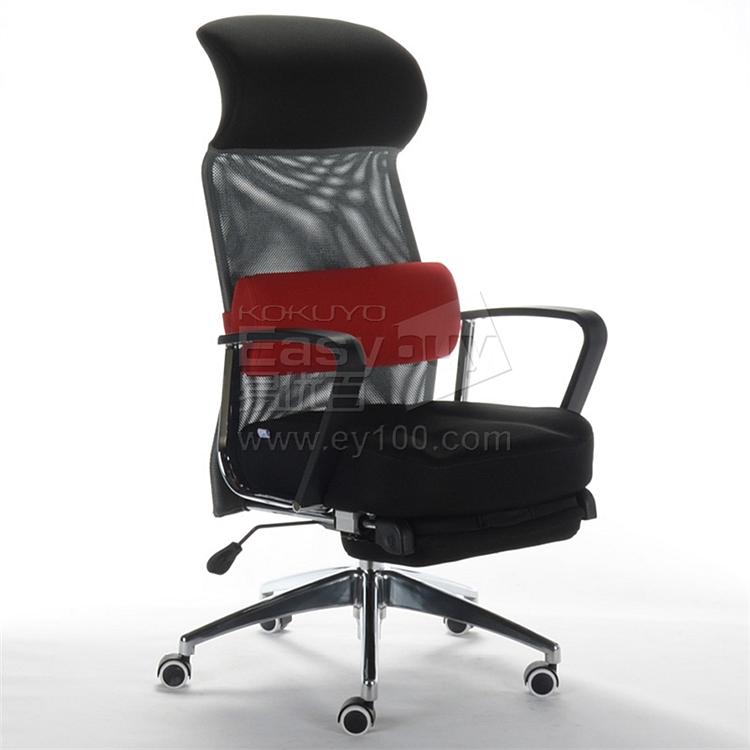 顺发 记忆棉舒适主管椅 (黑+红腰靠) 头靠+腰靠  JM1639A